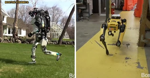 Boston Dynamics' terrifying robots can now run, jump and climb